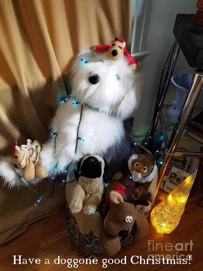 A Doggone Good Christmas by Jodie Marie Anne Richardson Traugott          aka jm-ART