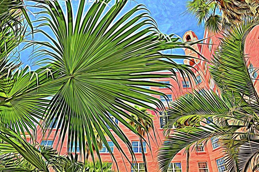 A Don CeSar Palm Frond by Alice Gipson