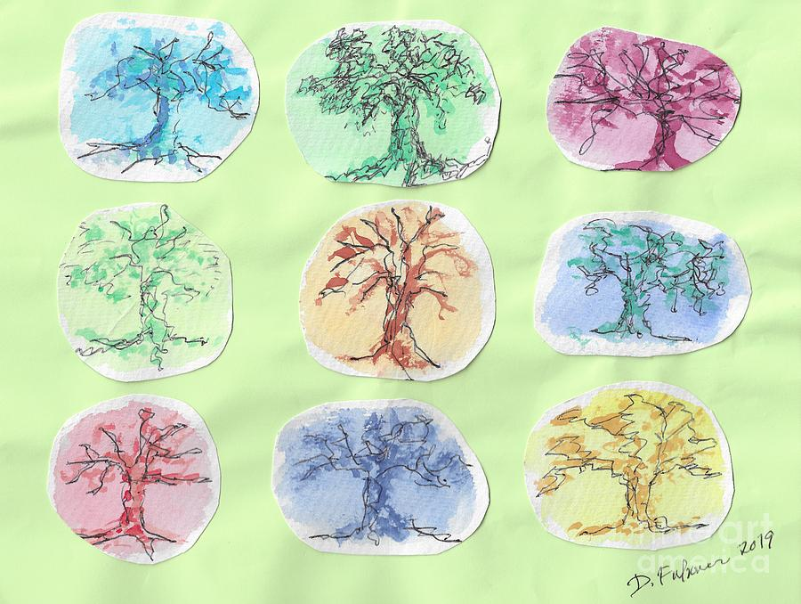 A Doodle Of Trees by Denise F Fulmer