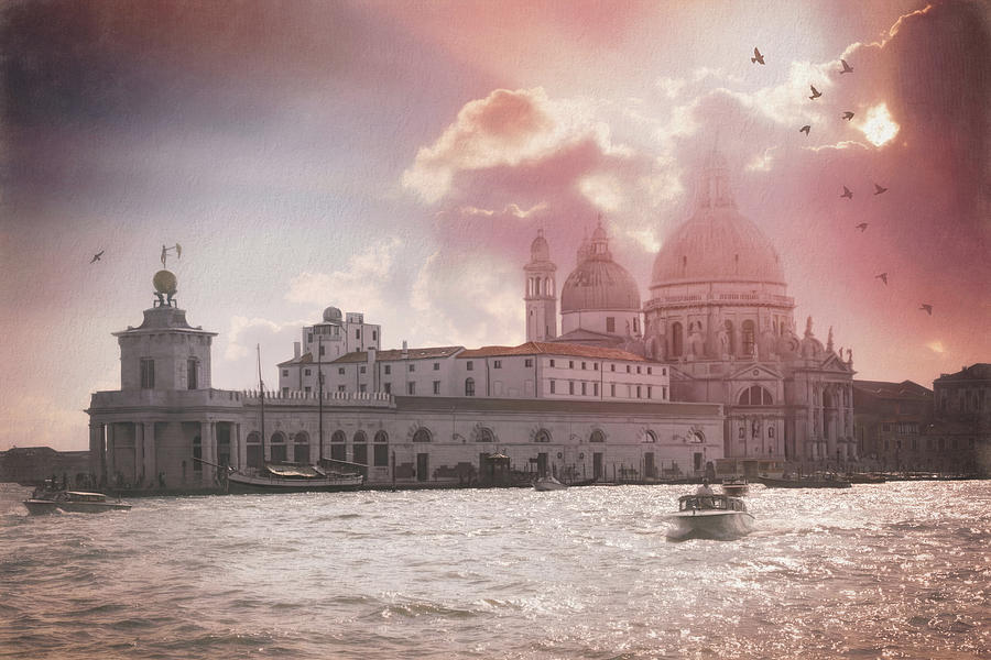 Venice Photograph - A Dreamy Vision Of Venice Italy  by Carol Japp