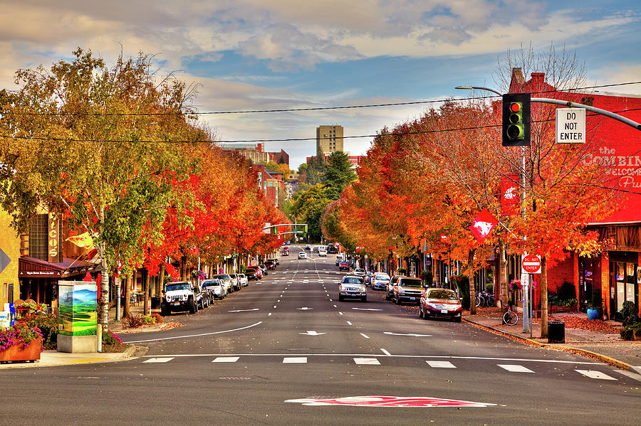 A Fall Day in Pullman by David Patterson