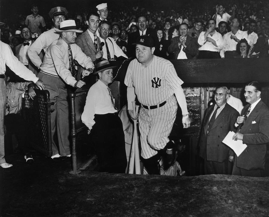 A Famous Yankee Photograph by American Stock Archive
