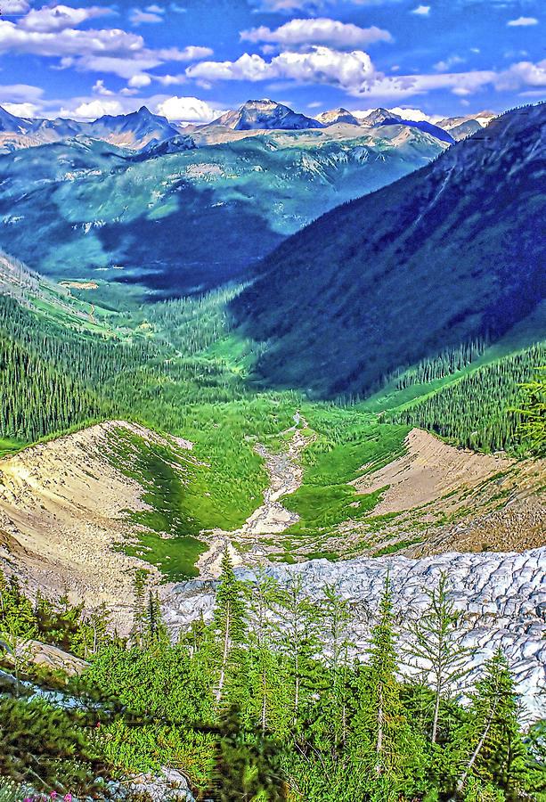 A Far Valley - Banff National Park Photograph