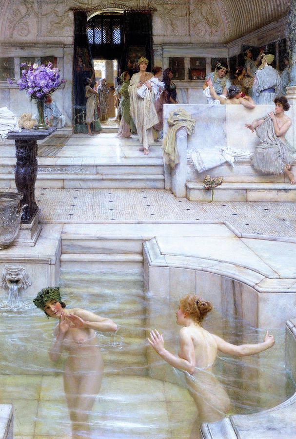 A Favourite Custom - Digital Remastered Edition by Lawrence Alma-Tadema