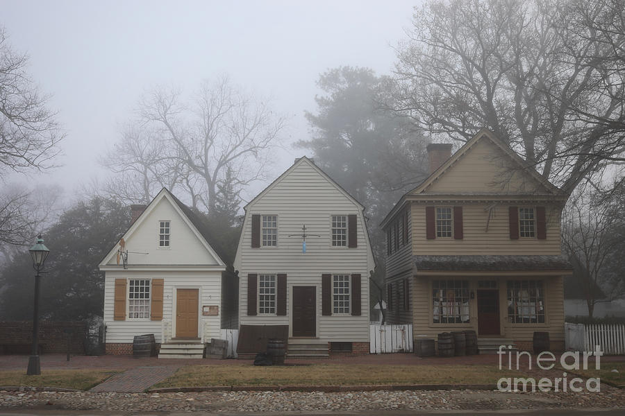 A Foggy Morning in Williamsburg by Rachel Morrison