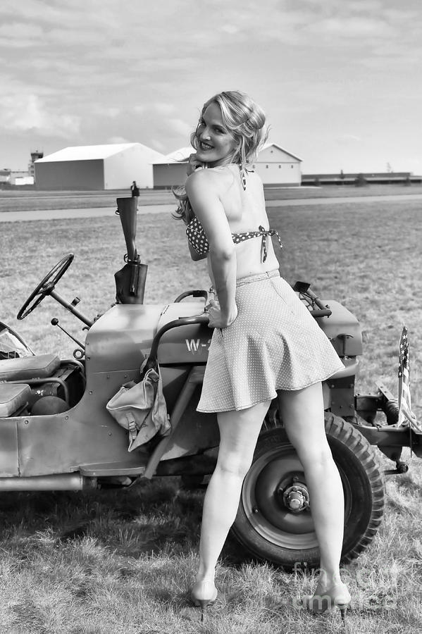 A Girl and her Jeep by Jimmy Ostgard