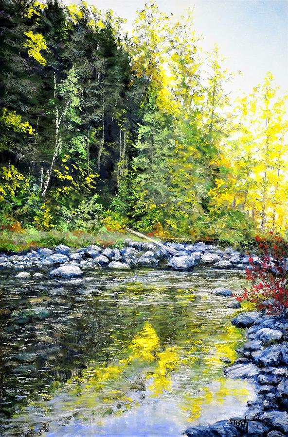 A Glimmer Of Fall by Lee Tisch Bialczak