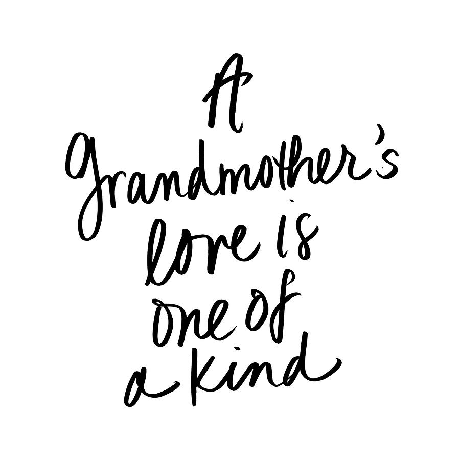 A Grandmother's Love by Sd Graphics Studio