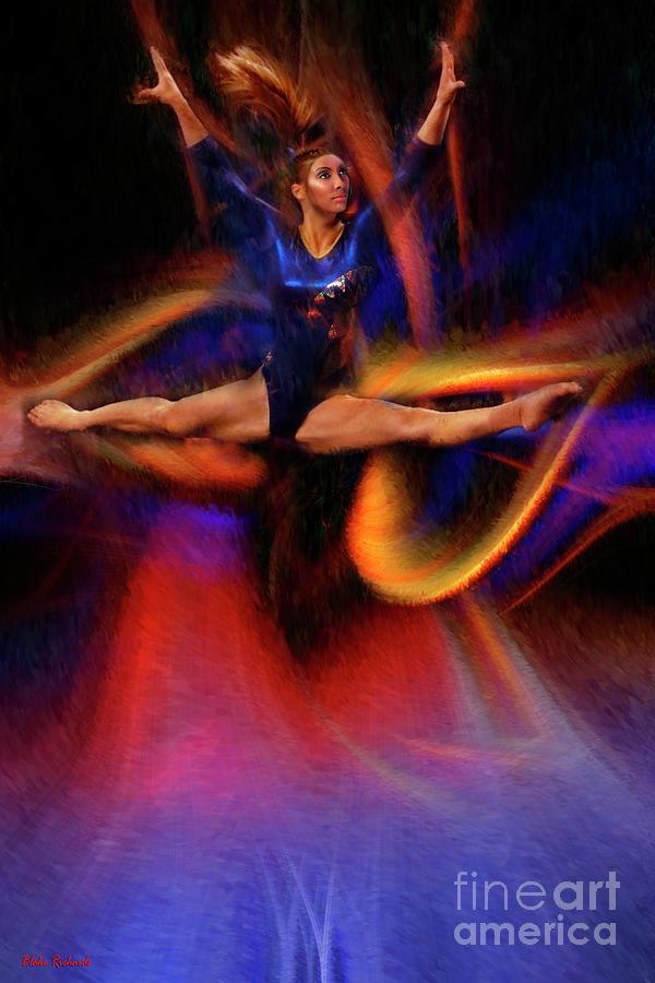 A Gymnastic Leap by Blake Richards