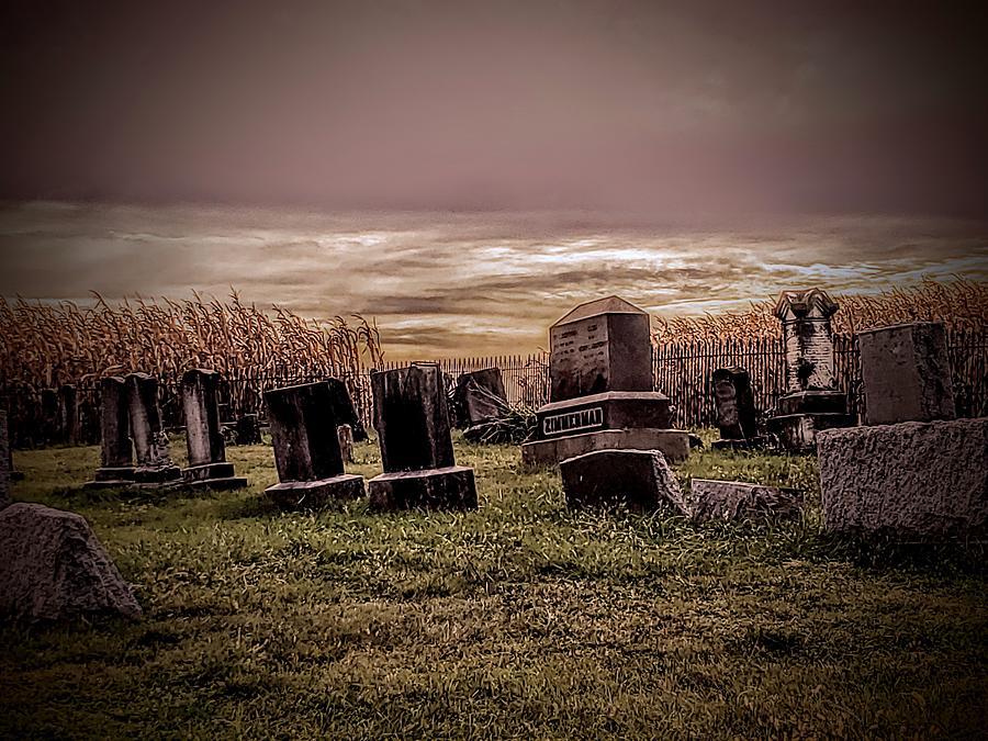 A Halloween Landscape  by Paul Kercher