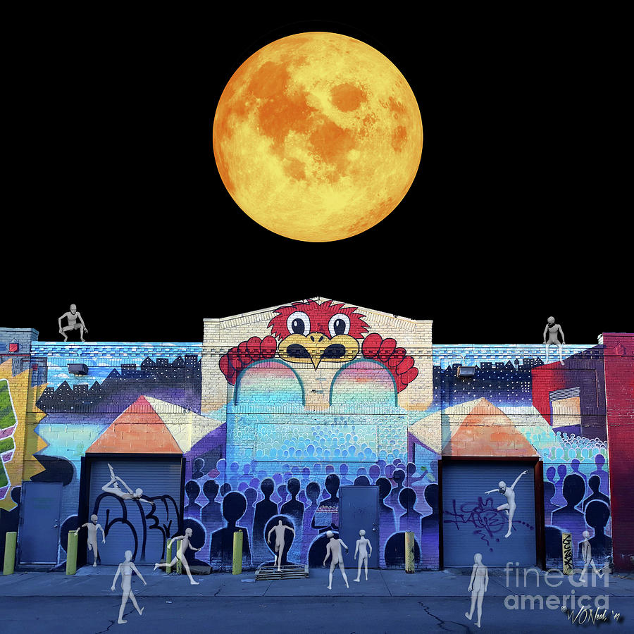 The Harvest Moon Over Terminus X by Walter Neal