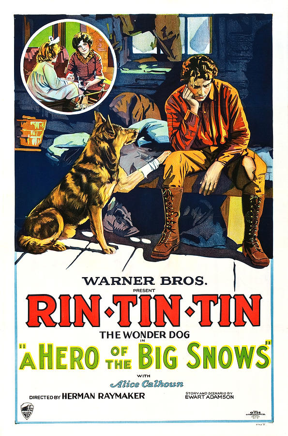 A Hero of the Big Snows by Warner Brothers