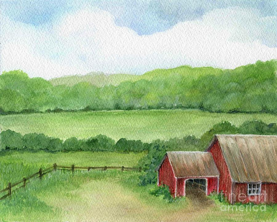 A Homestead View by Laurie Rohner