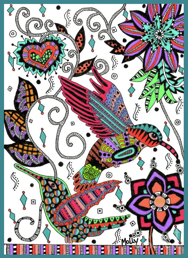 A Hummingbird Flight by Molly Williams