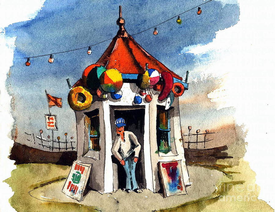 A kiosk of Baloons by Val Byrne
