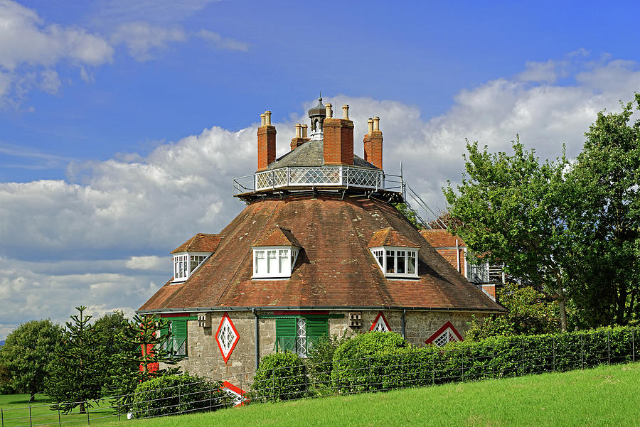 A la Ronde near Lympstone - Exmouth by Rod Johnson