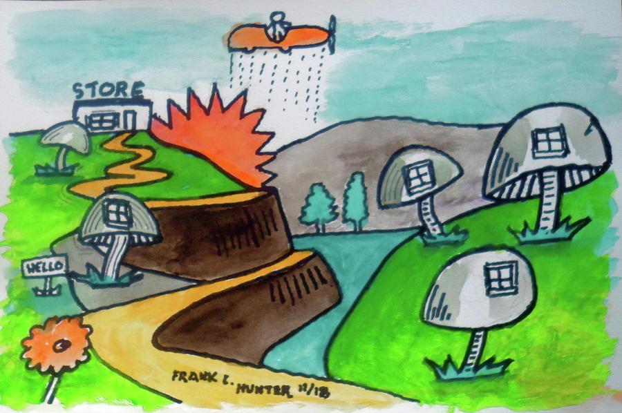 A Land Far Away by Frank Hunter