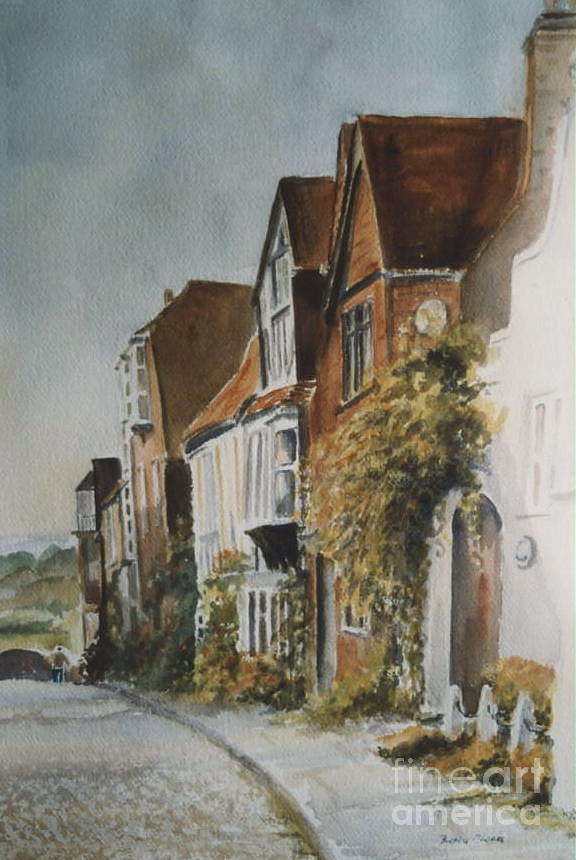 A lane in Rye, East Sussex by Beatrice Cloake
