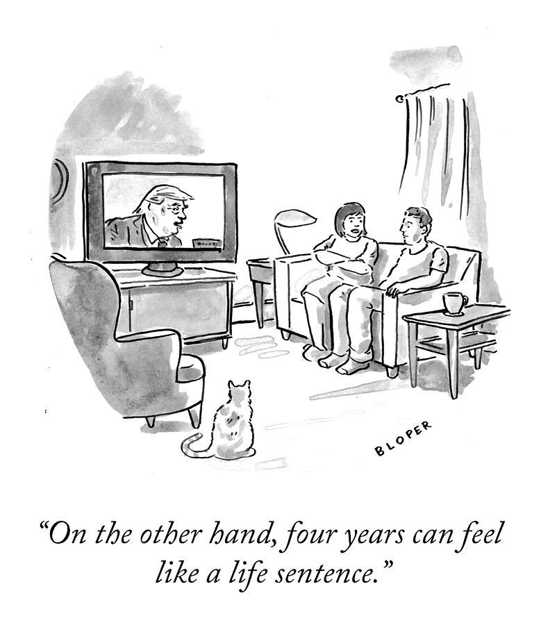 A Life Sentence Drawing by Brendan Loper