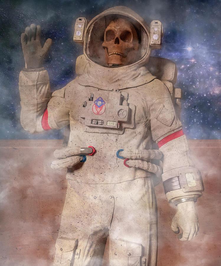 A Lifetime And Beyond Astronaut Digital Art