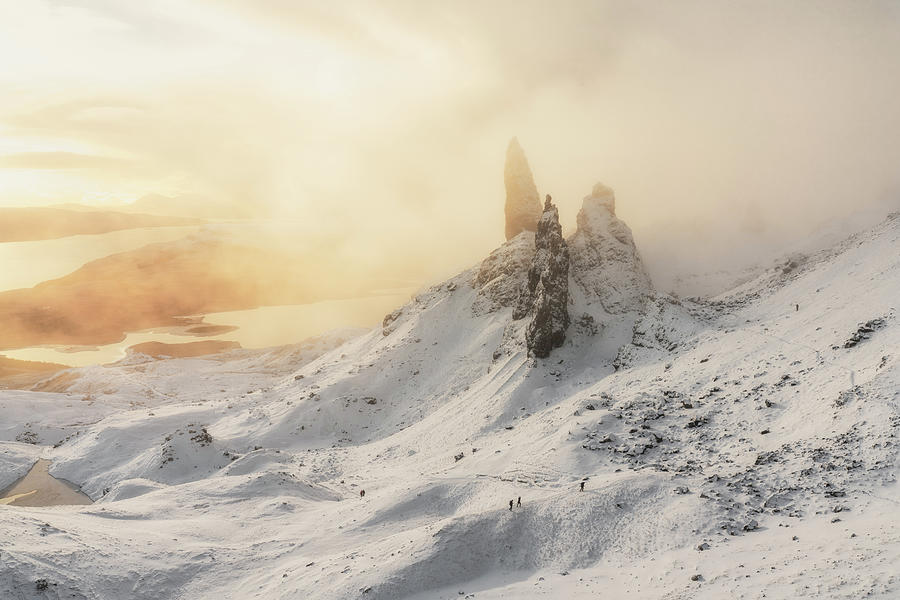 Landscape Photograph - the old man of Storr by Andy Fowlie