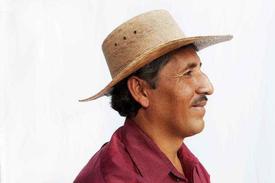 A Mexican Man Photograph by Russell Monk