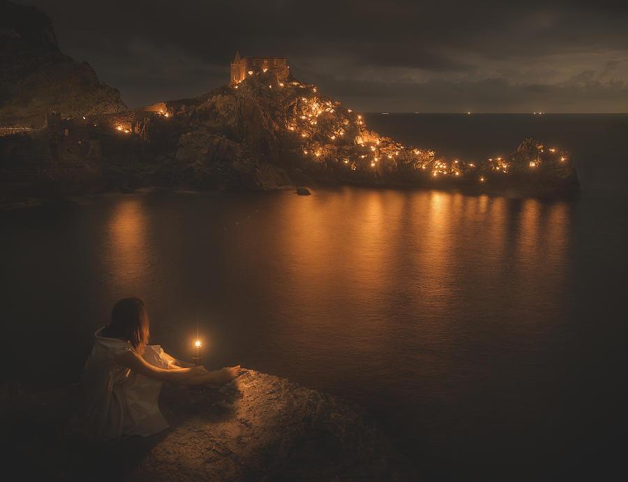Night Photograph - A Midsummer Night Dream by Paolo Lazzarotti