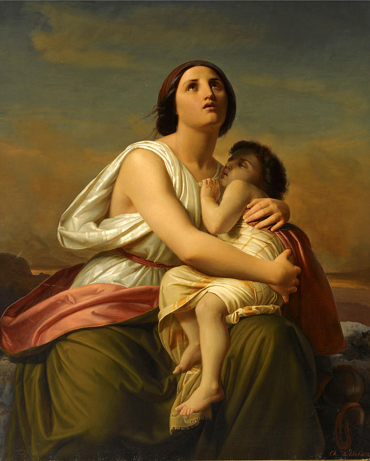A Mother and Child by Christian Kohler