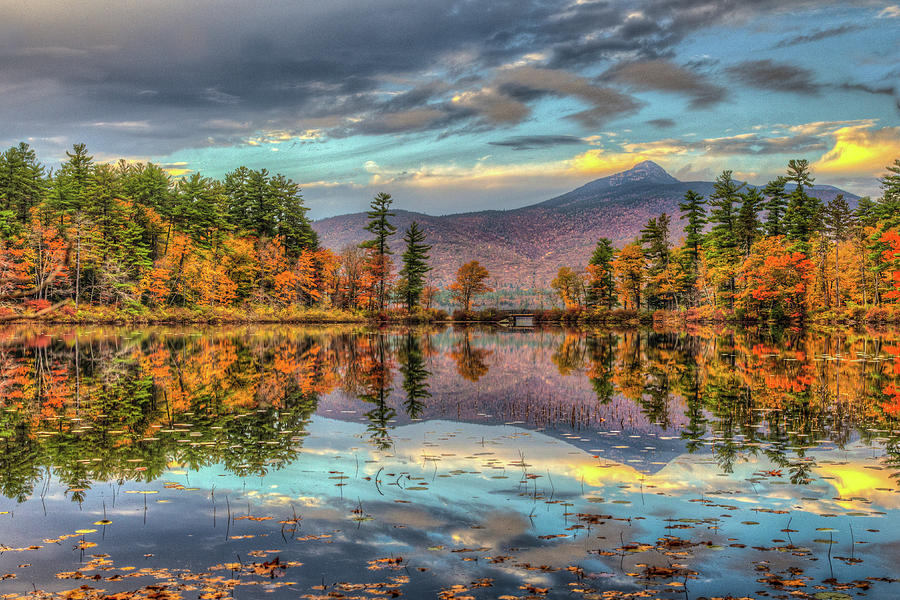A Mountain And Its Lake Photograph by Joe Martin A New Hampshire Portrait Photographer