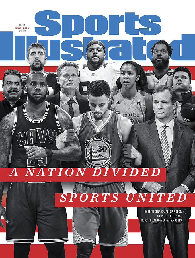 A Nation Divided, Sports United Sports Illustrated Cover Photograph by Sports Illustrated
