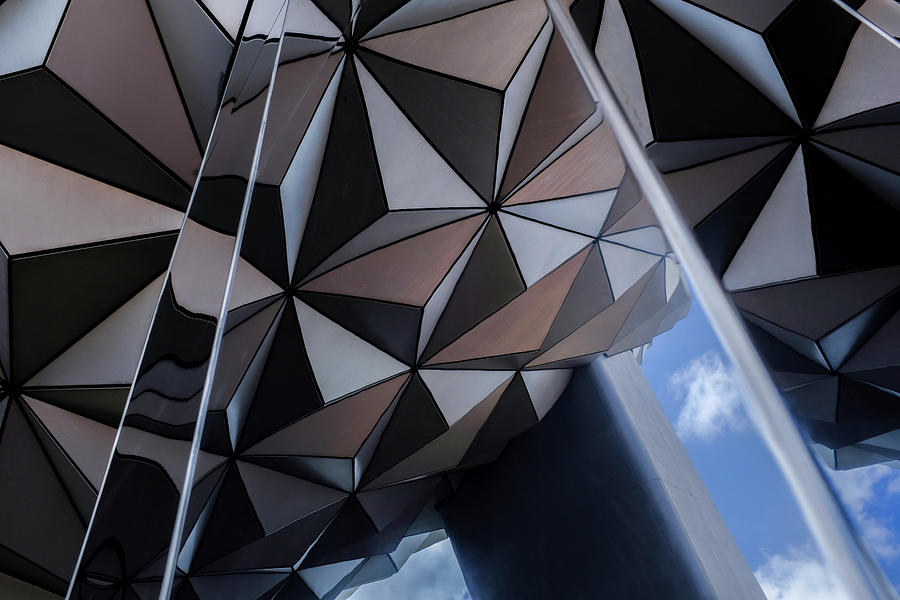 A New Look At Epcot Center At Disney In Orlando, FL by John McLenaghan