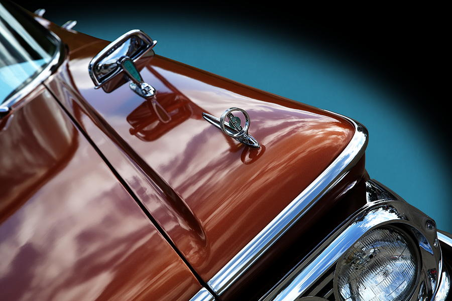 A New Slant on an Old Vehicle - 1959 Edsel Corsair by Debi Dalio