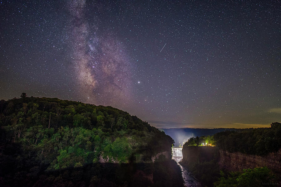 A Night At Inspiration Point by Mark Papke