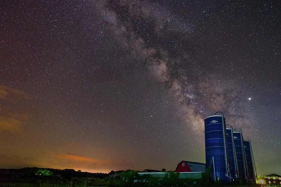 A Night At The Farm by Mark Papke