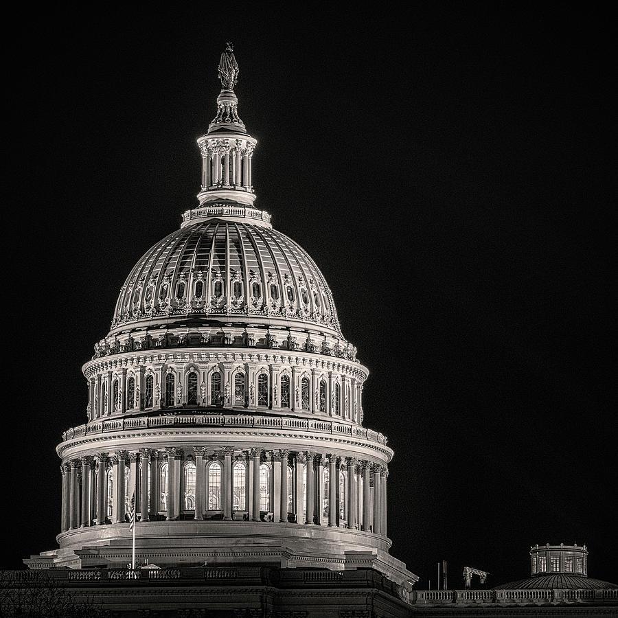 Washington Dc Photograph - A Night On The Town by Robert Fawcett
