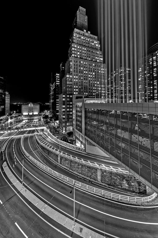 A NYC Tribute In light BW by Susan Candelario
