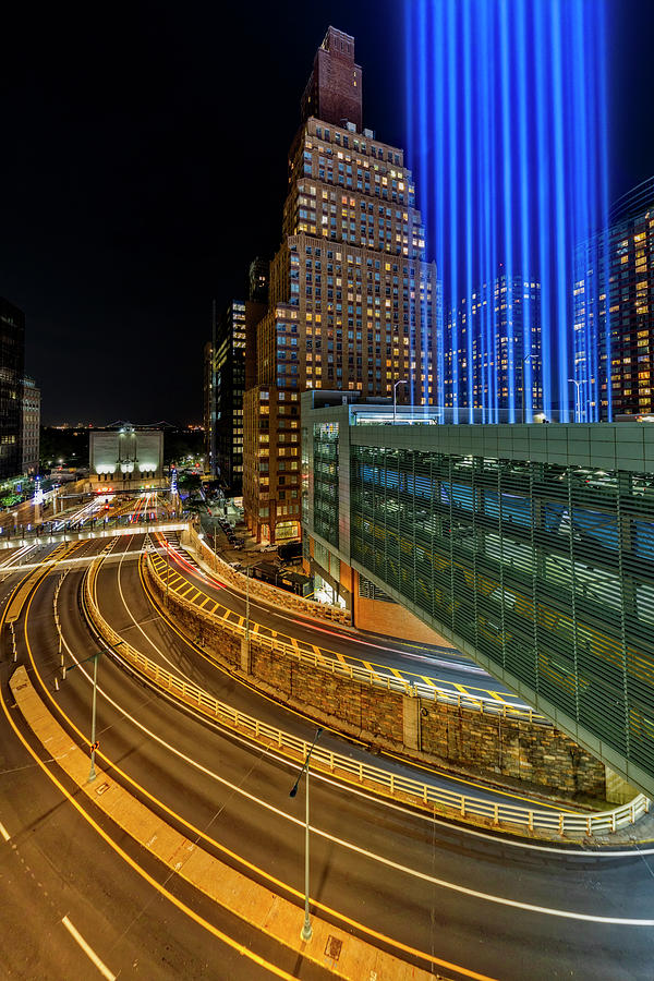 A NYC Tribute In light by Susan Candelario