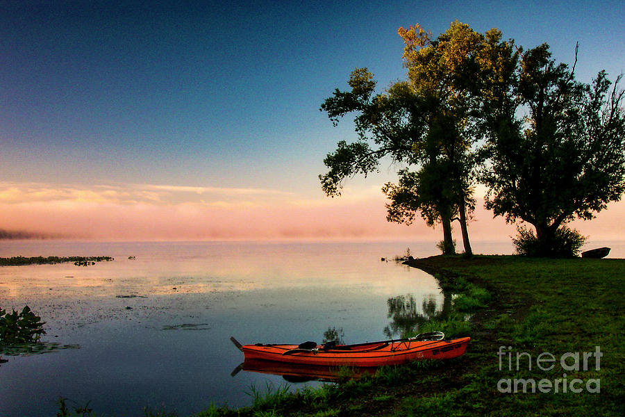 A Paddlers Morning Photograph