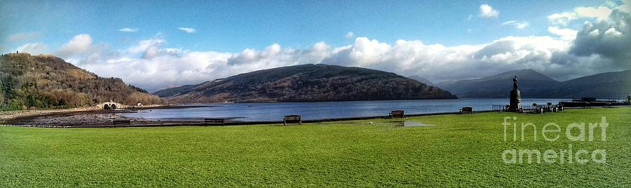 A Panoramic View of Inveraray  by Joan-Violet Stretch