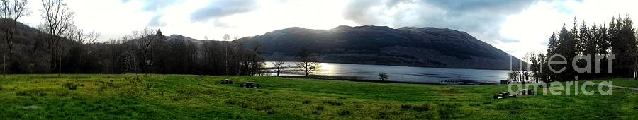 A Panoramic View of Loch Lomond by Joan-Violet Stretch