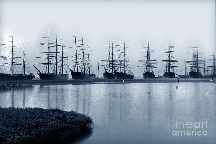 A part of the great fleet of the Alaska Packers Assoclatlon In w by California Views Archives Mr Pat Hathaway Archives