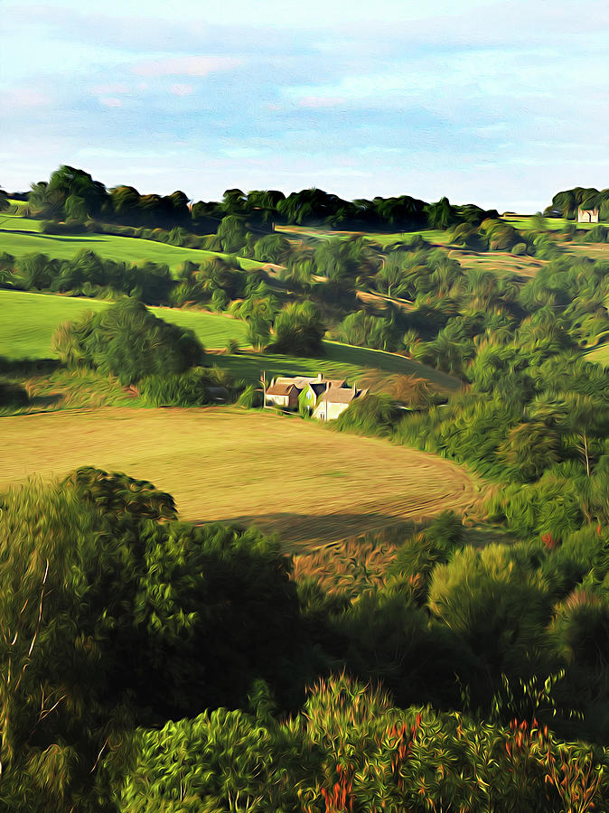 A Pastoral Cotswolds Dreamstate by Joe Schofield