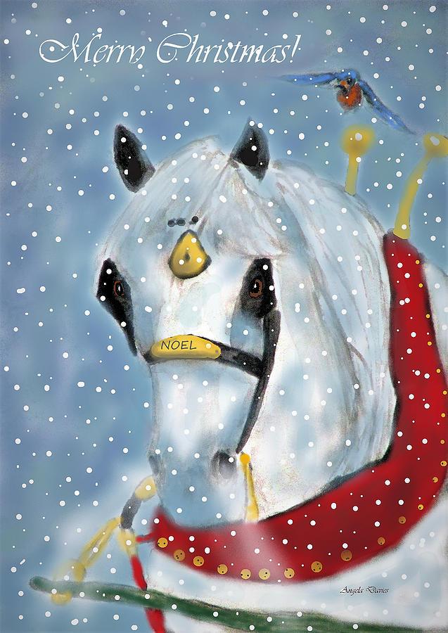 A Percheron Noel by Angela Davies