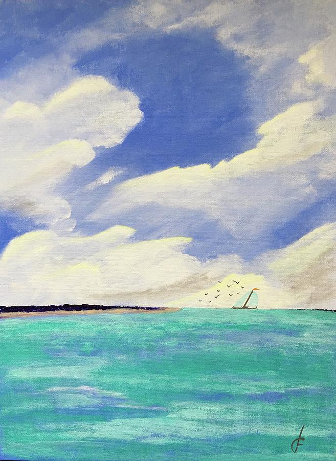 A Perfect Day for Sailing by Danielle Fry