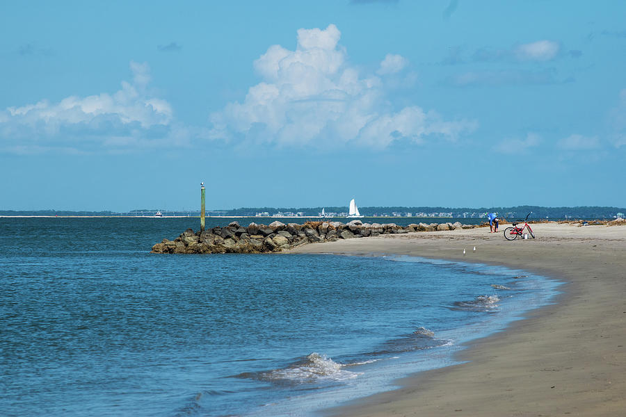 A Perfect Day On Calibogue Sound In Hilton Head Photograph