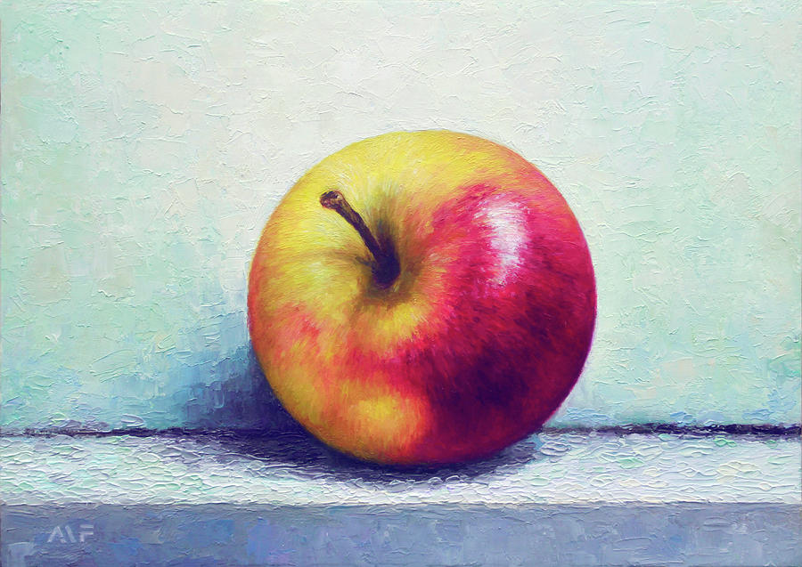 Oil Painting Painting - A Perfect Treat by Anna Van Fleet