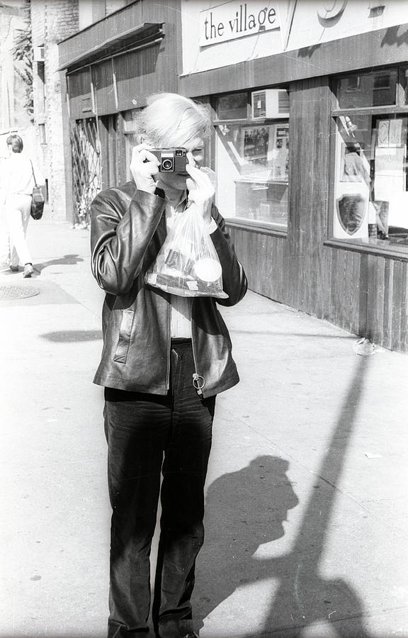 A Photo By Andy Warhol Photograph by Fred W. McDarrah