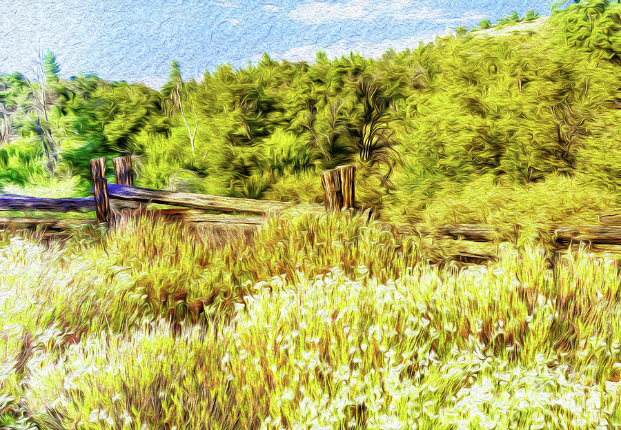 Outdoors Digital Art - A Place Of Serenity I by Kenneth Montgomery