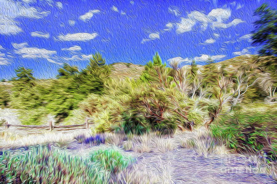 A Place Of Serenity II Digital Art by Kenneth Montgomery