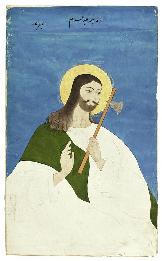 Portrait Painting - A Portrait Of A Prophet, India, Deccan, Late 18th Century by Celestial Images